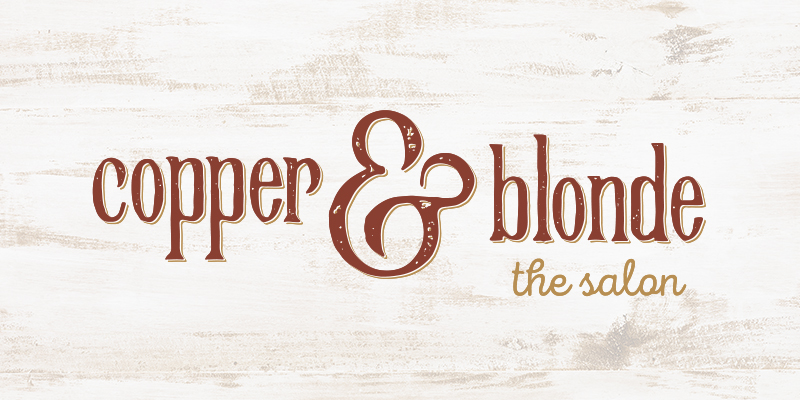 Copper and Blonde Salon Logo